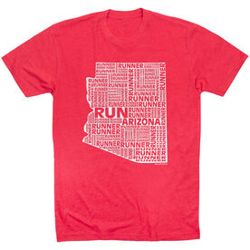 Running Short Sleeve T-Shirt - Arizona State Runner