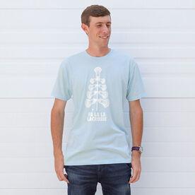 Guys Lacrosse Short Sleeve T-Shirt - Fa La La Tree