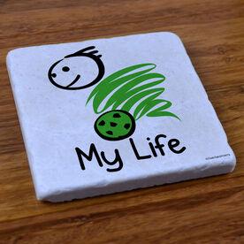 My Life Soccer (Male) - Stone Coaster