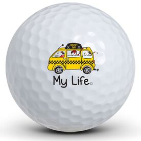 My Life - Hockey Taxi Golf Balls