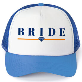 Personalized Trucker Hat - Bride (Diamond)