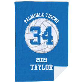 Volleyball Premium Blanket - Personalized Team
