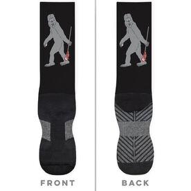 Guys Lacrosse Printed Mid-Calf Socks - Yeti