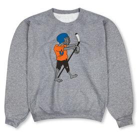 Hockey Crew Neck Sweatshirt - Hockey Zombie