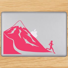 Trail Runner (Female) Removable GoneForaRunGraphix Laptop Decal