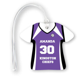 Volleyball Jersey Bag/Luggage Tag - Personalized Jersey