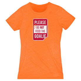 Women's Everyday Tee - Don't Feed The Goalie