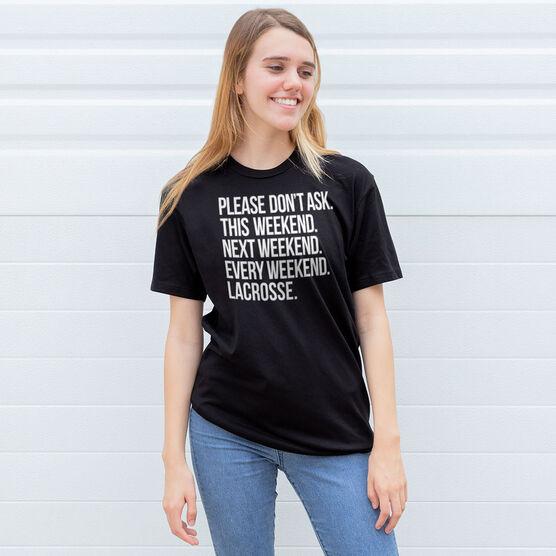 Lacrosse Short Sleeve T-Shirt - All Weekend Lacrosse