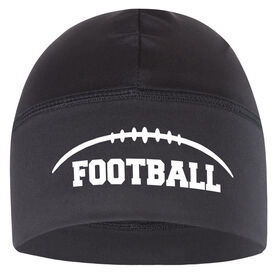 Beanie Performance Hat - Football Stitches with Football