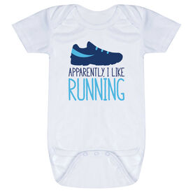 Running Baby One-Piece - I'm Told I Like Running