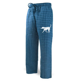 Guys Lacrosse Lounge Pants Max the Lax Dog