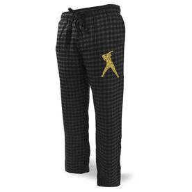 Softball Lounge Pants Silhouette
