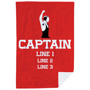 Wrestling Premium Blanket - Personalized Captain