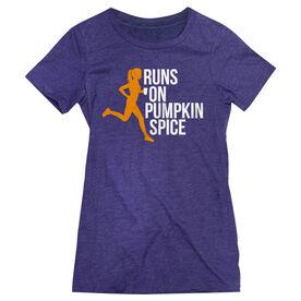 Women's Everyday Runners Tee - Runs On Pumpkin Spice
