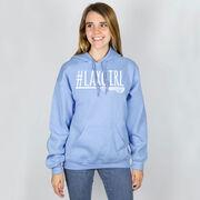 Girls Lacrosse Hooded Sweatshirt - #LAXGIRL
