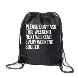 Soccer Sport Pack Cinch Sack - All Weekend Soccer