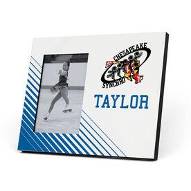 Figure Skating Photo Frame - Chesapeake Synchronized Skating Logo