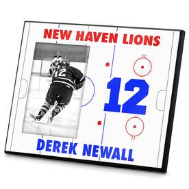 Hockey Personalized Photo Frame Hockey Ice Rink