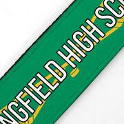 Hockey Juliband No-Slip Headband - Personalized Crossed Sticks Stripe Pattern