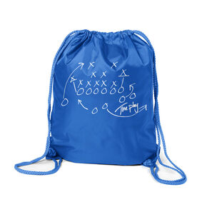 Football Sport Pack Cinch Sack The Play