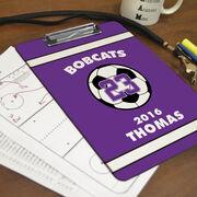 Soccer Custom Clipboard Personalized Soccer Team