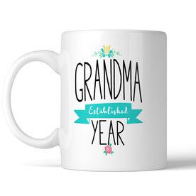 Grandma Established Personalized Coffee Mug
