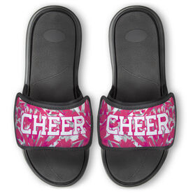 Cheerleading Repwell® Slide Sandals - Cheer Pom Pom