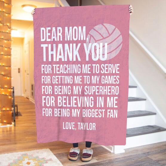 Volleyball Premium Blanket - Dear Mom