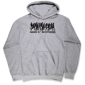 Soccer Hooded Sweatshirt - Soccer Band of Brothers