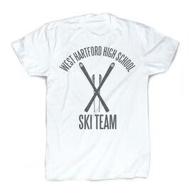 Skiing Vintage T-Shirt - Personalized Ski Team