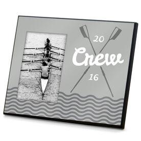 Crew Photo Frame Crossed Oars River