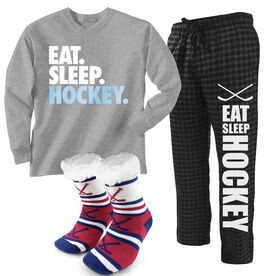 Lounging Around Hockey Outfit