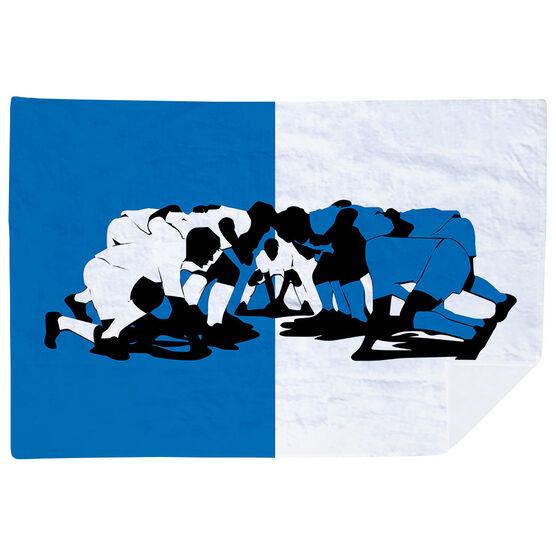 Rugby Premium Blanket - Scrum Begins