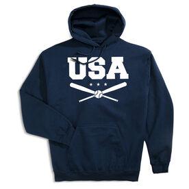 Baseball Hooded Sweatshirt - USA Baseball