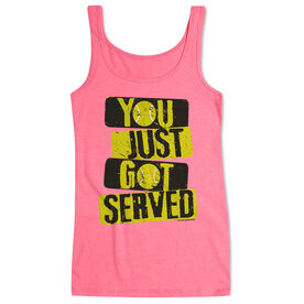 Tennis Women's Athletic Tank Top You Just Got Served