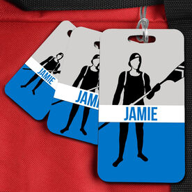 Crew Bag/Luggage Tag personalized rower with Name