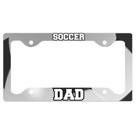 Soccer Dad License Plate Holder