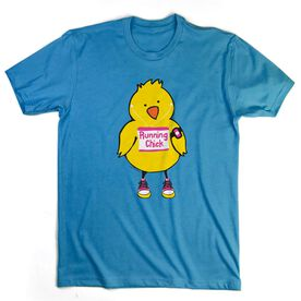 Youth T-Shirt Short Sleeve Running Chick