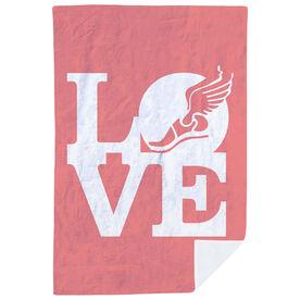 Track & Field Premium Blanket - Winged Foot Love