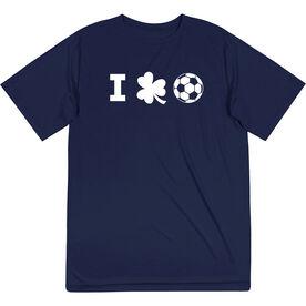 Soccer Short Sleeve Performance Tee - I Shamrock Soccer