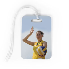 Volleyball Bag/Luggage Tag - Custom Photo