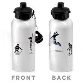 Volleyball 20 oz. Stainless Steel Water Bottle - Go For The Points