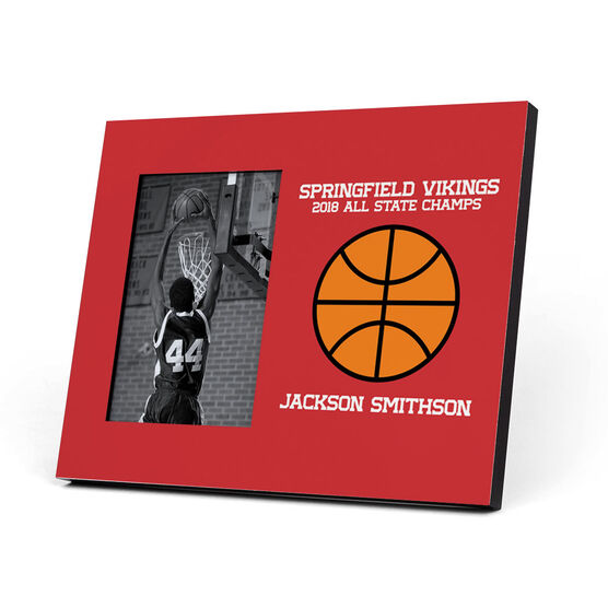 Basketball Photo Frame - Custom Basketball