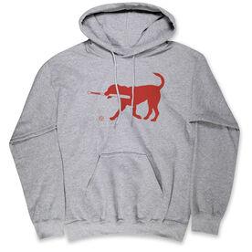 Baseball Standard Sweatshirt - Baseball Dog With Bat