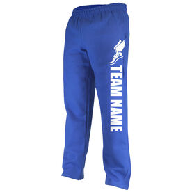 Track and Field Fleece Sweatpants Team Name