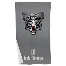 Volleyball Beach Towel Custom Team Logo