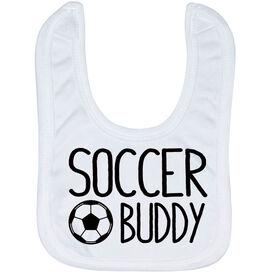 Soccer Baby Bib - Soccer Buddy