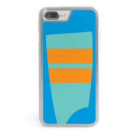 Crew iPhone® Case - Custom Oar Colors 2 Horizontal Stripe