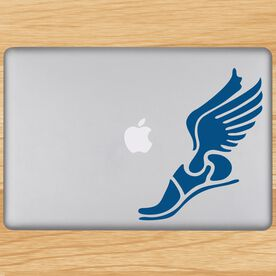 Winged Foot Removable GoneForaRUNGraphix Laptop Decal