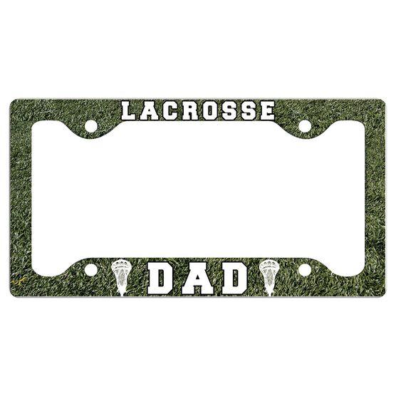 LACROSSE DAD License Plate Holder